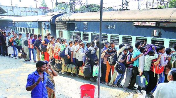 तत्काल टिकट भी नहीं : पूर्वांचल रूट पर सभी ट्रेनें  फुल,  कैसे पहुचें घर