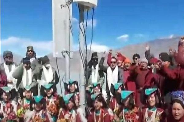 लद्दाख के ग्रामीणों को मिला अनोखा उपहार, गांव में छाई खुशहाली