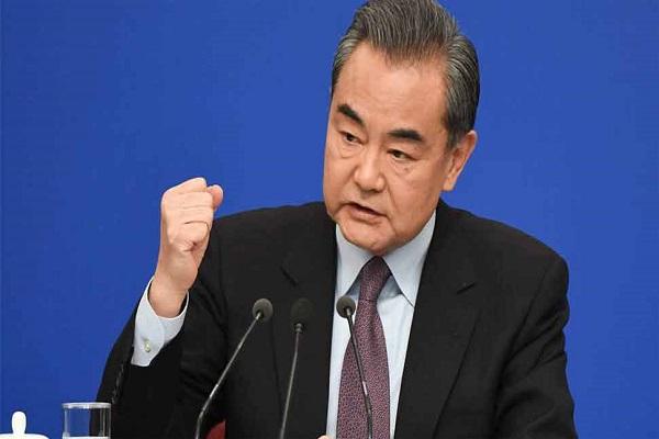 चीनी विदेश मंत्री का बयान, कहा- सीमा विवाद सुलझाने के लिए सहयोग जरूरी