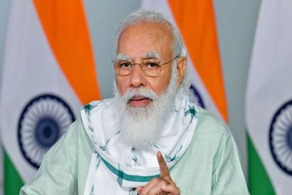 """PM मोदी ने मुख्यमंत्रियों के साथ की बैठक, कहा- कोरोना की """"सेकंड पीक"""" को तुरंत रोकना होगा"""
