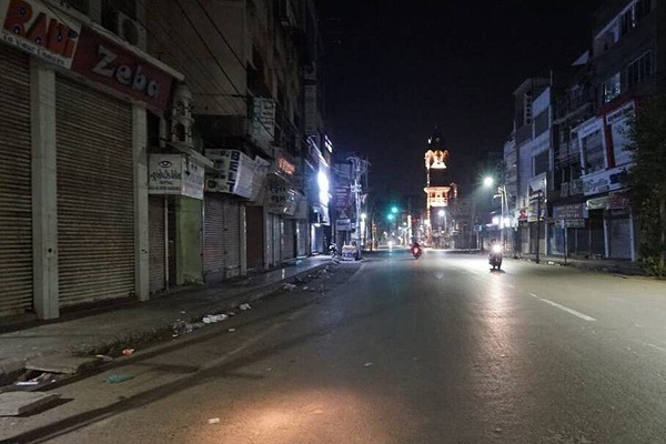 तेलंगाना में एक मई तक आज रात 9 बजे से सुबह 5 बजे तक लागू रहेगा नाइट कर्फ्यू