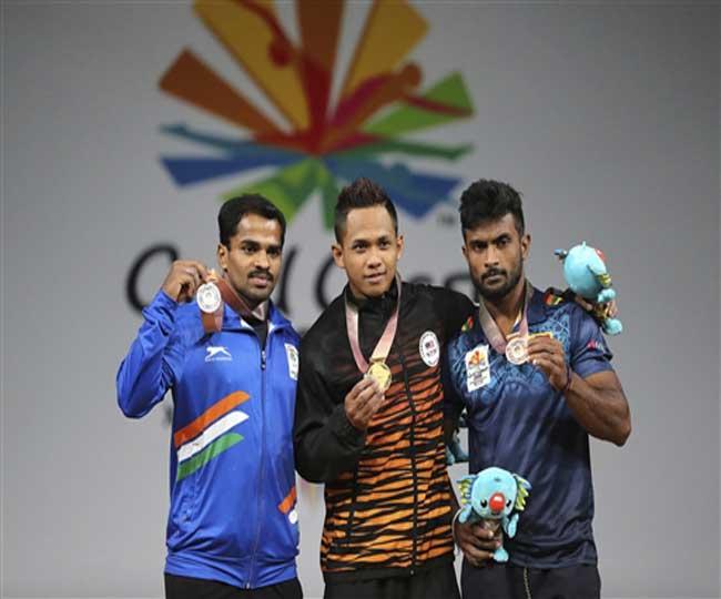 कॉमनवेल्थ गेम्स 2018: गुरुराजा ने वेटलिफ्टिंग में दिलाया भारत को पहला पदक