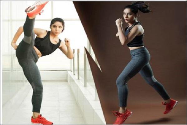 टेलीविजन अभिनेत्री दीपिका सिंह गोयल ने शेयर किया वर्कआउट तश्वीरें