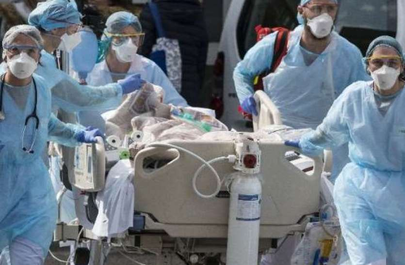 कोरोना के नए मामलों में गिरावट, 24 घंटे में 3.11 लाख नए केस आए, 4077 लोगों की मौत