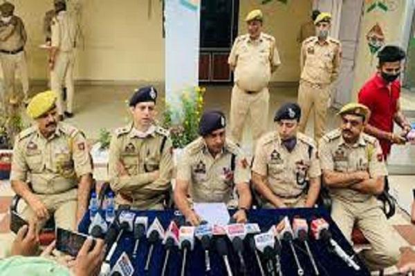 कठुआ पुलिस ने 14 ग्राम हेरोइन सहित चार आरोपियों को हिरासत में लिया