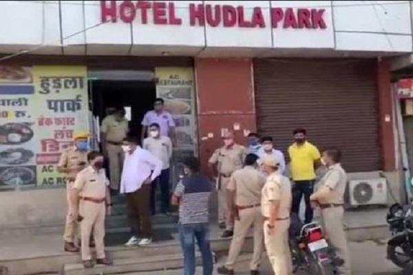 जयपुर में अपराधियों को हौसले बुलंद, महवा विधायक के होटल पर जमकर किया पथराव
