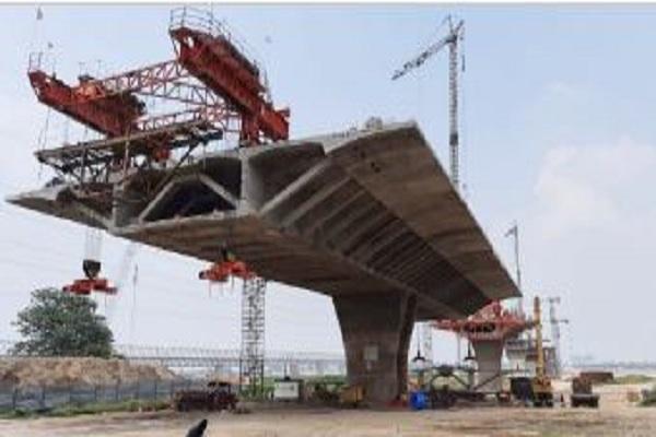 बिहार में गंगा नदी पर 2022 तक तैयार हो जाएगा, पहला हाइब्रिड एन्युइटी मॉडल पुल, निर्माण अधिकारी ने दी जानकारी