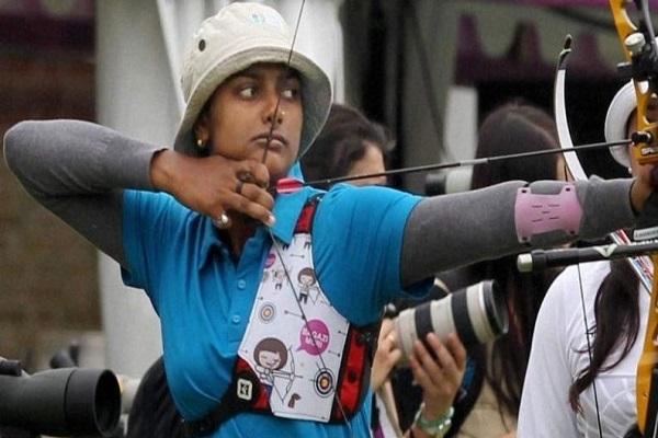 तीरंदाजी विश्व कप: दीपिका कुमारी ने पूरी की गोल्डन हैट्रिक