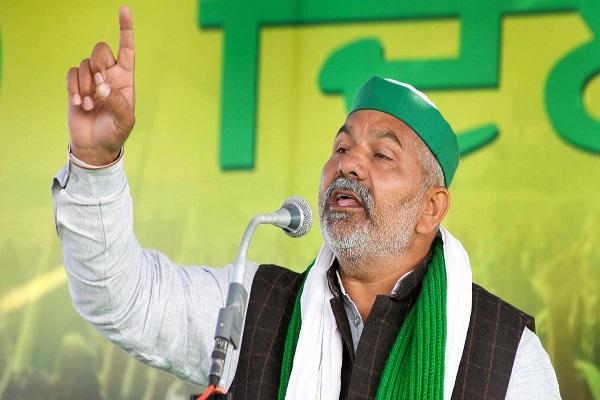 किसान आंदोलन: राकेश टिकैत बोले- ऐसा प्रतित हो रहा है, देश में जंग होगी