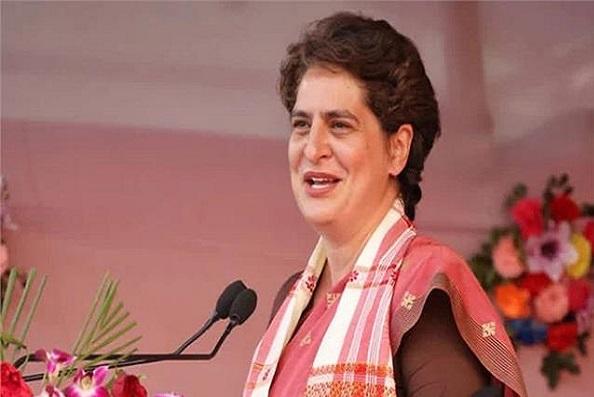 प्रियंका गांधी यूपी दौरे के दूसरे दिन लखीमपुर खीरी में, रेप पीड़ित बच्चियों के परिवारों करेंगी मुलाकात