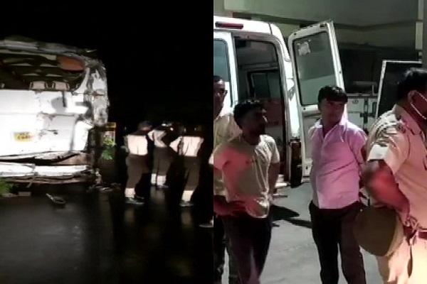 संभल में बड़ा हादसा, दो बसों की भिड़ंत में 7 लोगों की मौत, 8 लोग घायल