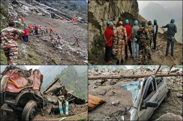 हिमाचल प्रदेश के किन्नौर में भूस्खलन में 14 लोगों की मौत, कई लापता, संयुक्त रूप से चल रहा बचाव अभियान