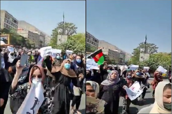 पाकिस्तान के खिलाफ काबुल में प्रदर्शन, तालिबानियों ने भीड़ को काबू करने के लिए चलाई गोलियां