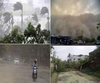 तूफान और बारिश का कहर, 26 लोगों की हुई मौत