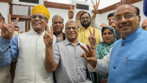 NDA के हरिवंश बने राज्यसभा के उपसभापति, PM मोदी ने दी जीत की बधाई